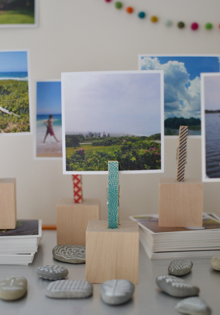 Make: Wooden Block Photo Holders