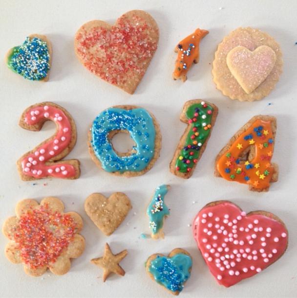 Sugar cookies // dairy free