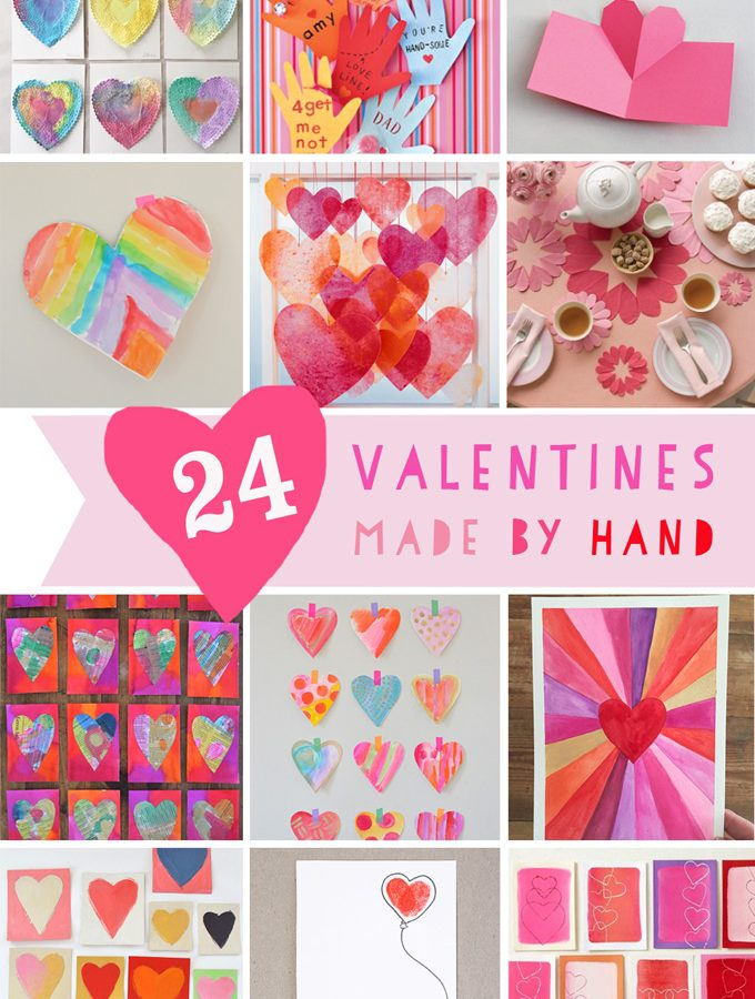 24 Homemade Valentines