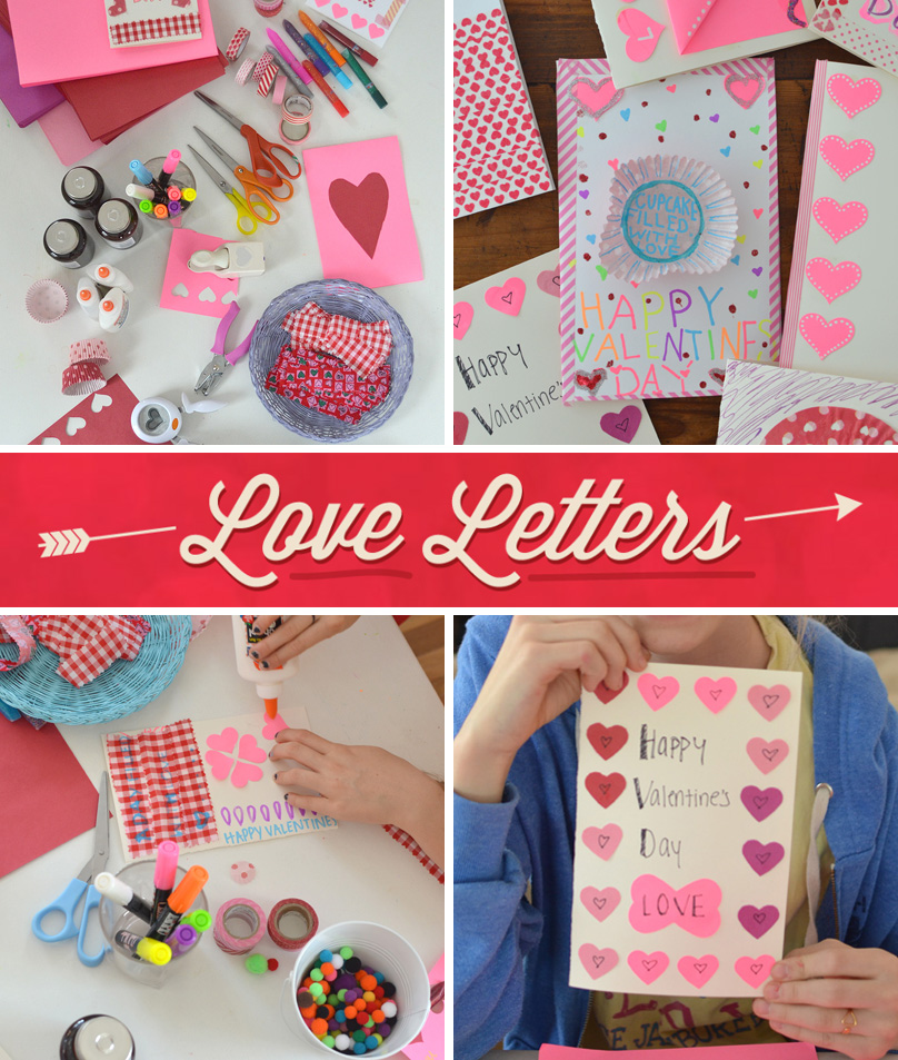 Love Letters is a program that asks teens to create handmade Valentine's cards to lift the spirits of older people across the US during a peak time of isolation ~ in partnership with DoSomething.org // Art Bar
