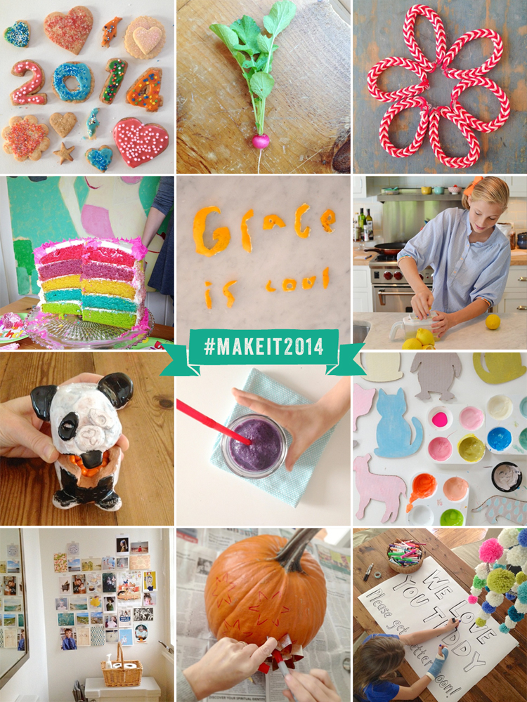 Make + Share on Instagram // #makeit2014