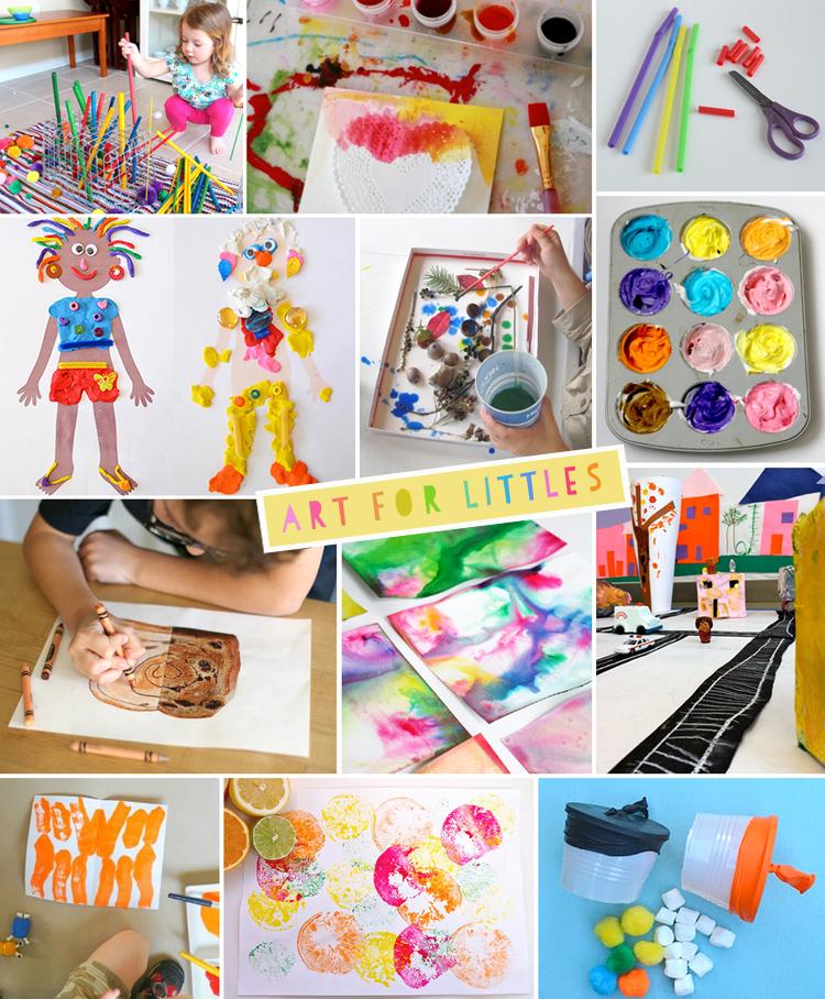Art For Littles // one