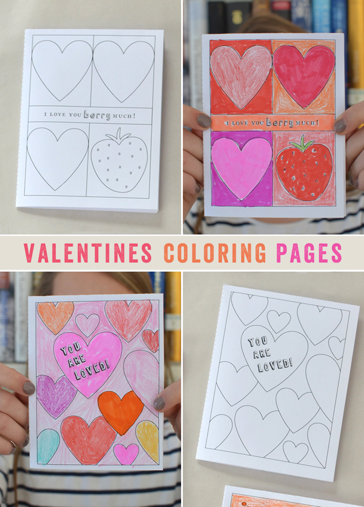 valentine's printables are fun!