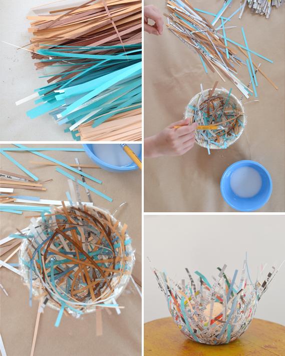 Make Bird Nests Artbar