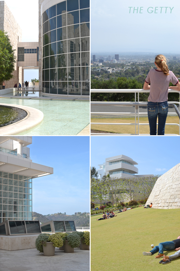 the getty museum :: our trip to LA