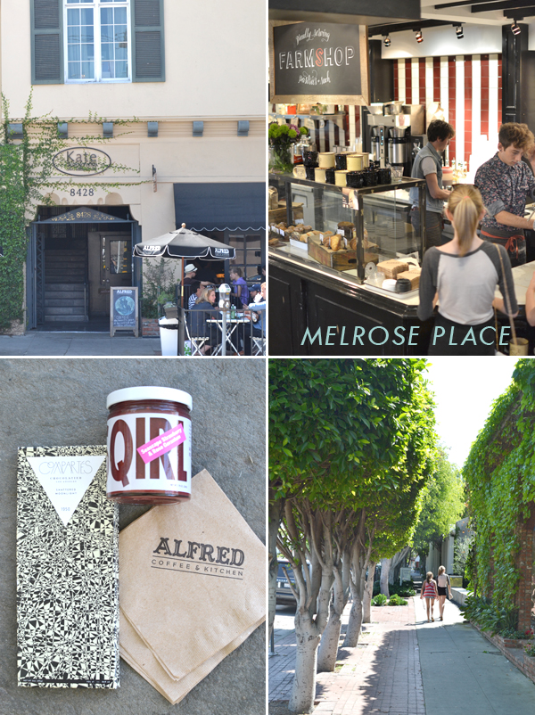 melrose place :: our trip to LA