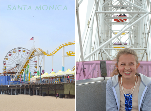 santa monica pier :: our trip to LA