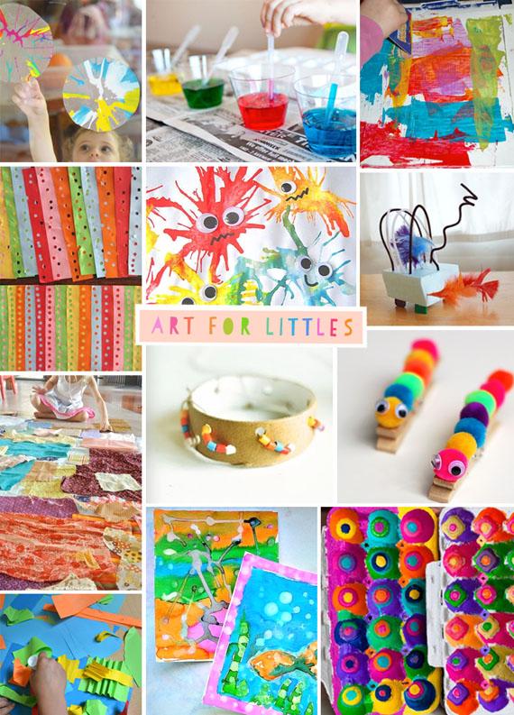 Art for Littles // two
