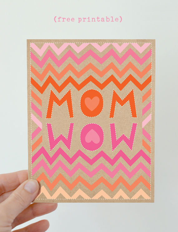 Mother's Day Card {printable}