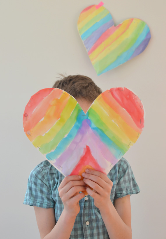 Puffy Hearts {fun for all ages}