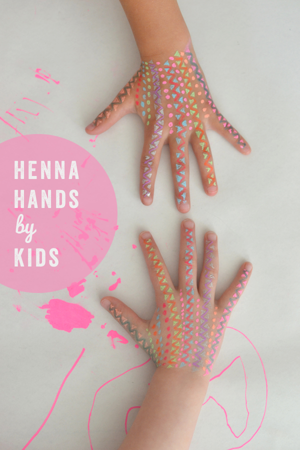 Henna Hands by Kids