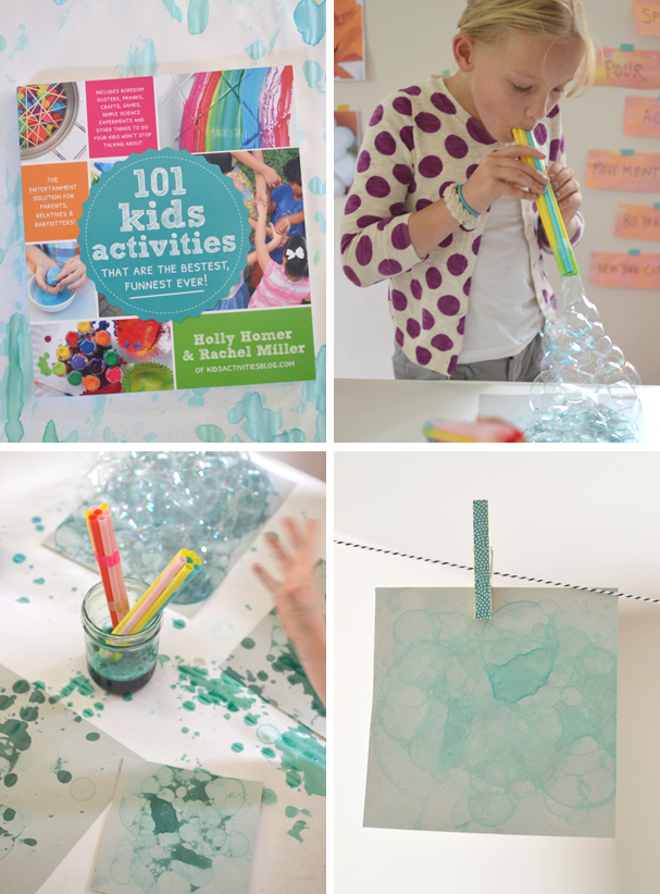 such a fun idea with beautiful results from the Kids Activities Blog's new book