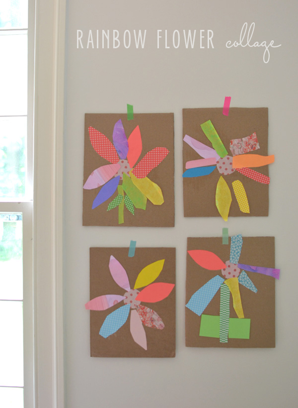 great art project for cutting skills and color recognition