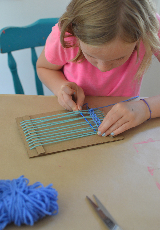 Weaving With Kids Artbar