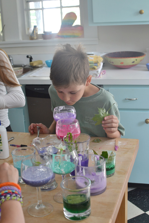 kids love mixing potions ~ let them also name their concoctions and you will be astonished by their creativity!