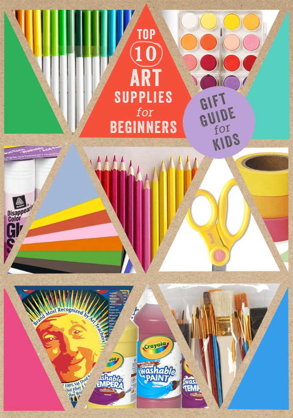 Gift Guide // Top 10 Basic Art Supplies