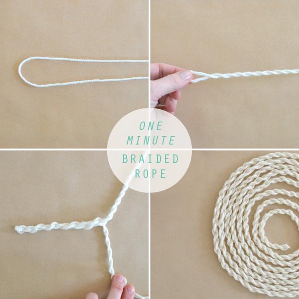 DIY braided rope is so easy