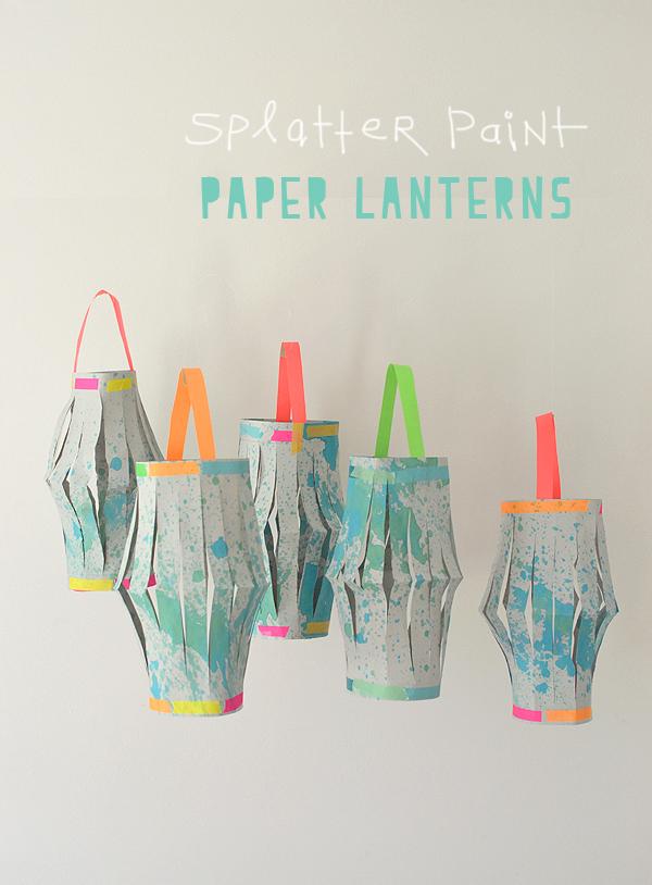 Paper Lanterns // Made by Kids