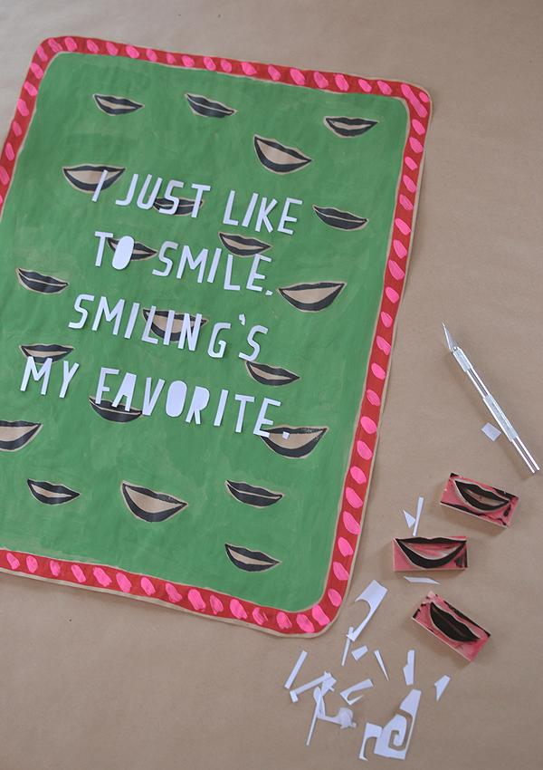 Smiling's My Favorite // Elf Quote