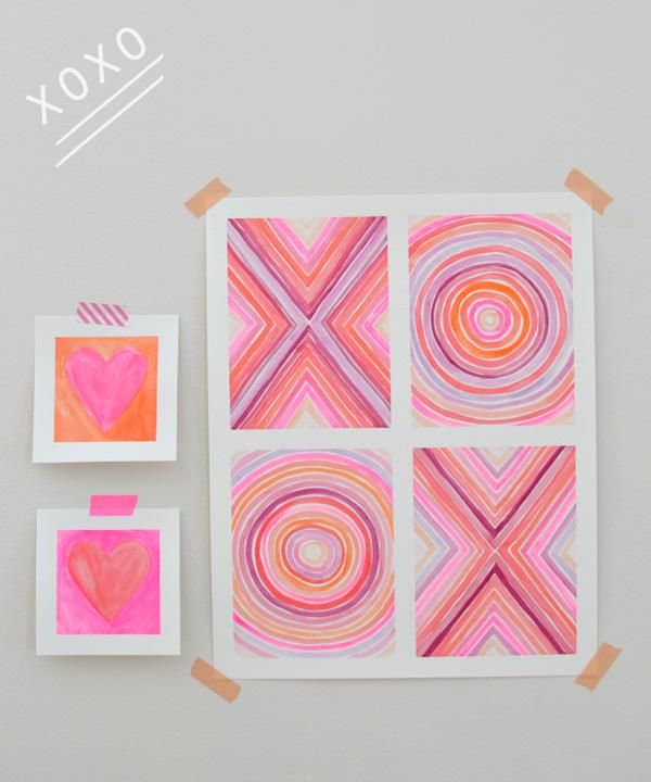 DIY Painting // XOXO