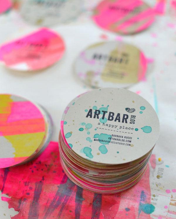 handmade cards by Barbara Rucci for Art Bar