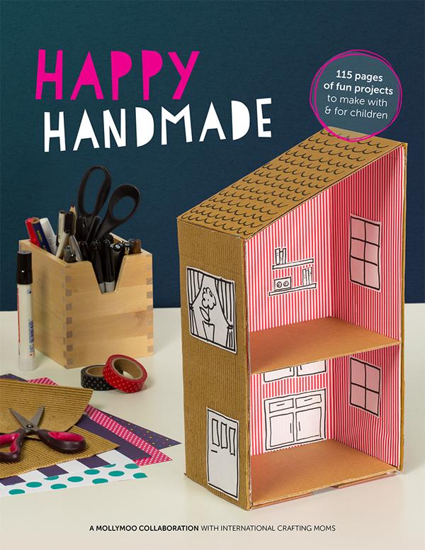 Happy Handmade E-book by Molly Moo (Art Bar as contributor)