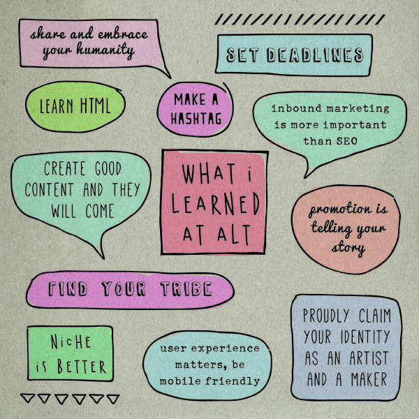 What I learned at ALT summit 2015