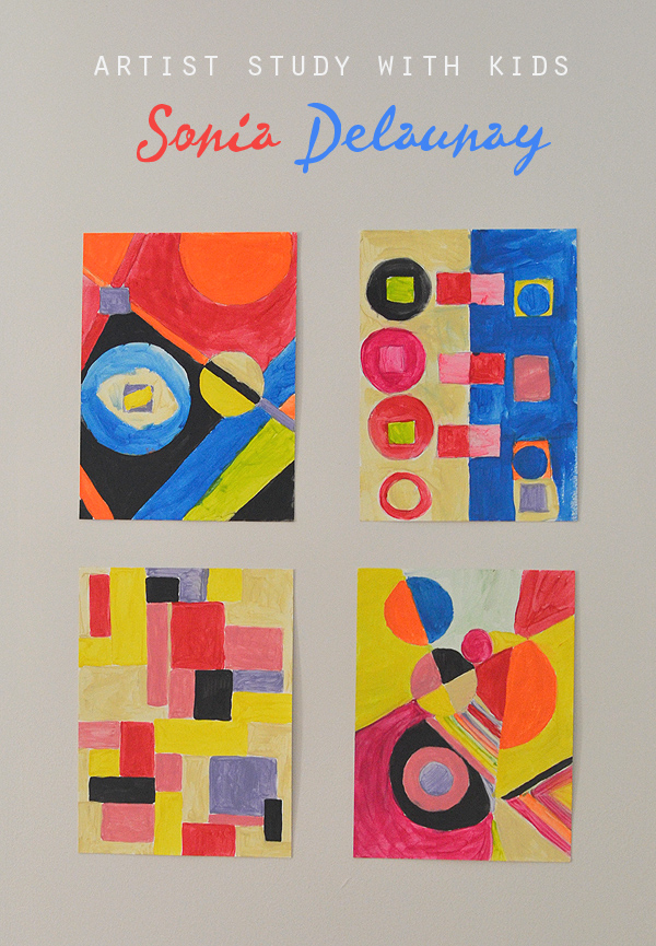 Artist Study with Kids: Sonia Delaunay