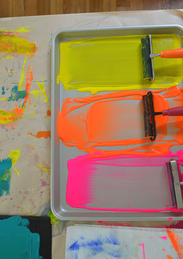 teach kids the fine art of printmaking with simple styrofoam prints - Printing Pictures For Kids
