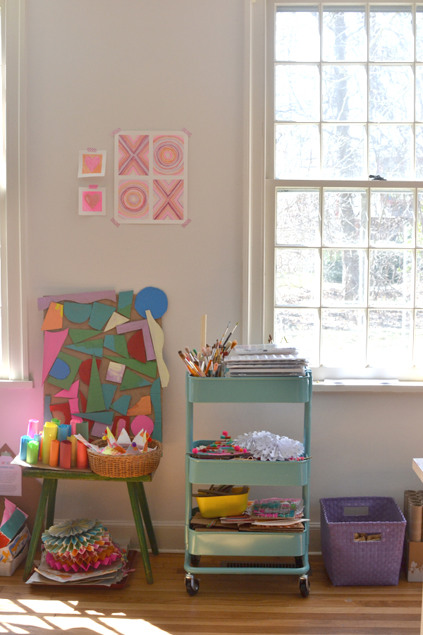 make your own art space at home for your kids. Making an Art Space at Home   ARTBAR