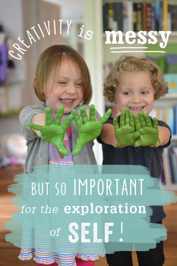 Creativity is Messy // Let Them Explore!