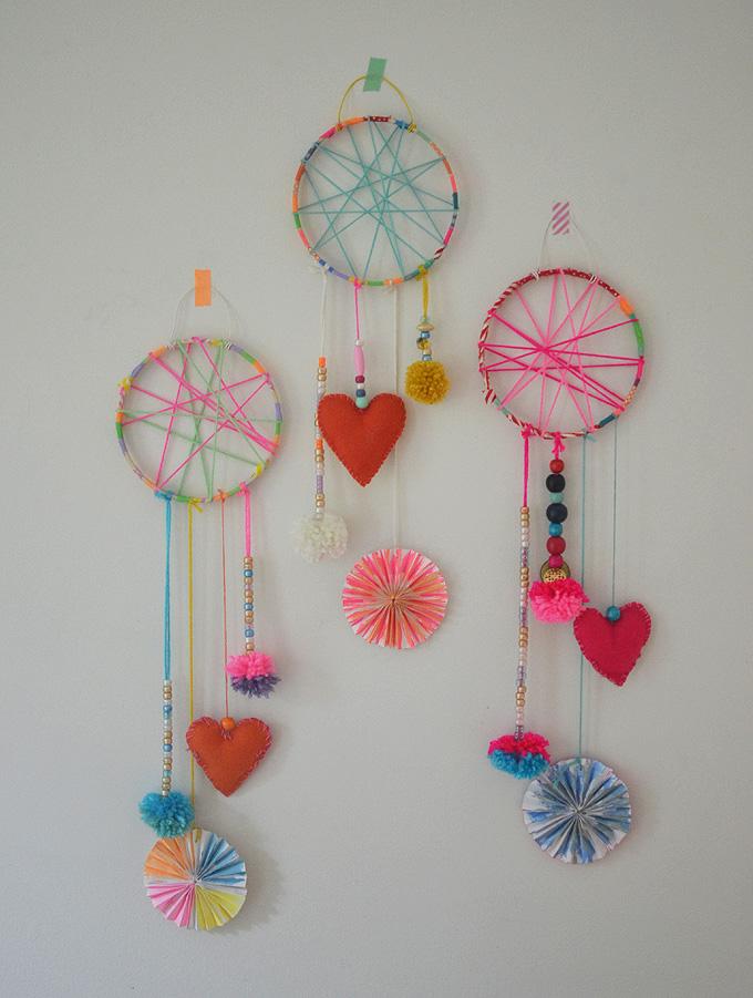 Diy Dream Catchers Made By Kids Artbar