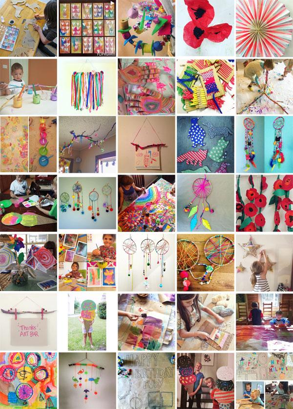 maker mamas, inspired by Art Bar Blog
