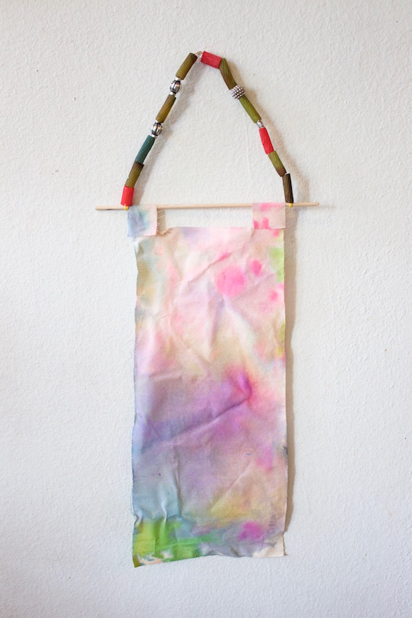 Watercolor Fabric Banners