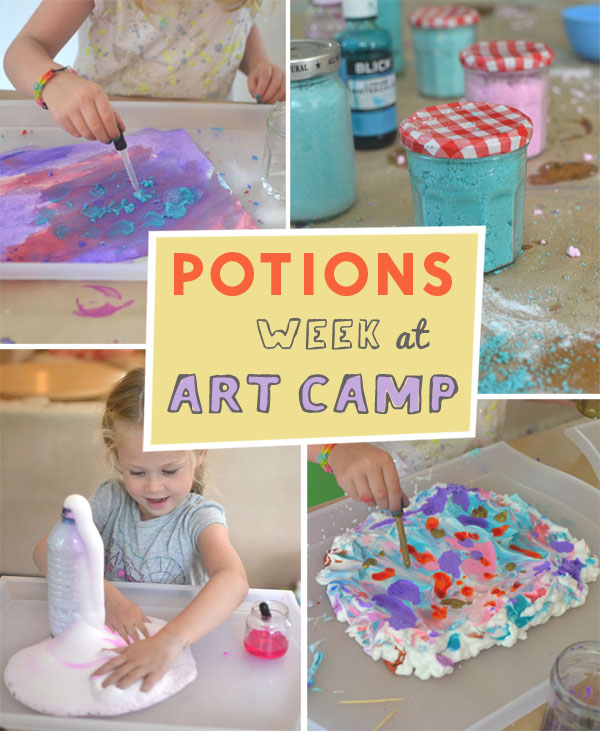 Potions Week at Art Camp