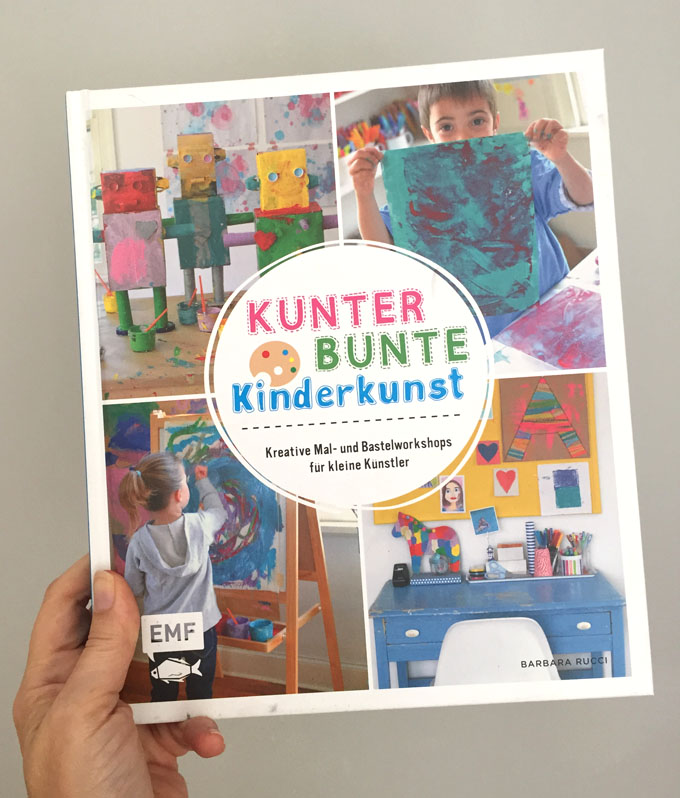 German edition of Art Workshop for Children by Barbara Rucci