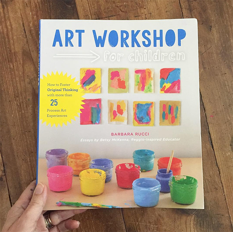Art Workshop for Children is not just another book of straightforward art projects. The book's unique child-led approach provides a framework for cultivating creative thinking and encourages the wonder that comes when children are allowed to freely explore the creative process and their materials.