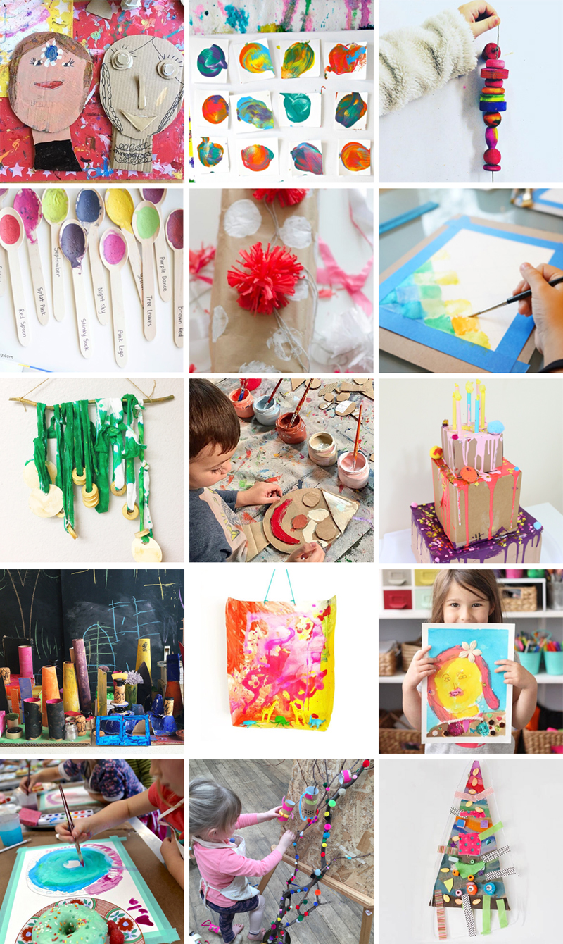 Blog Tour for Art Workshop for Children, a new book by Barbara Rucci