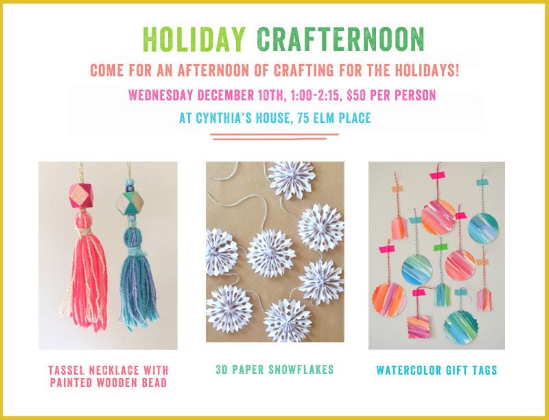 Art Bar craft party invitation