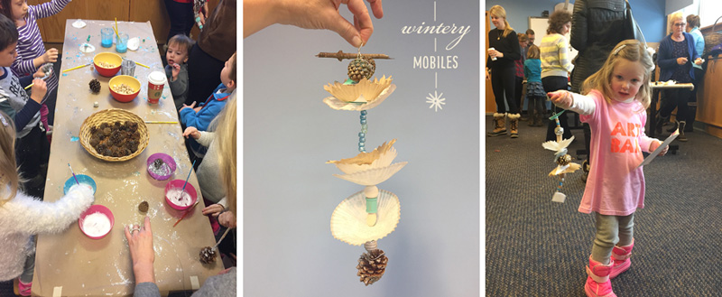 New Canaan Library event for the new book Art Workshop for Children, by Barbara Rucci