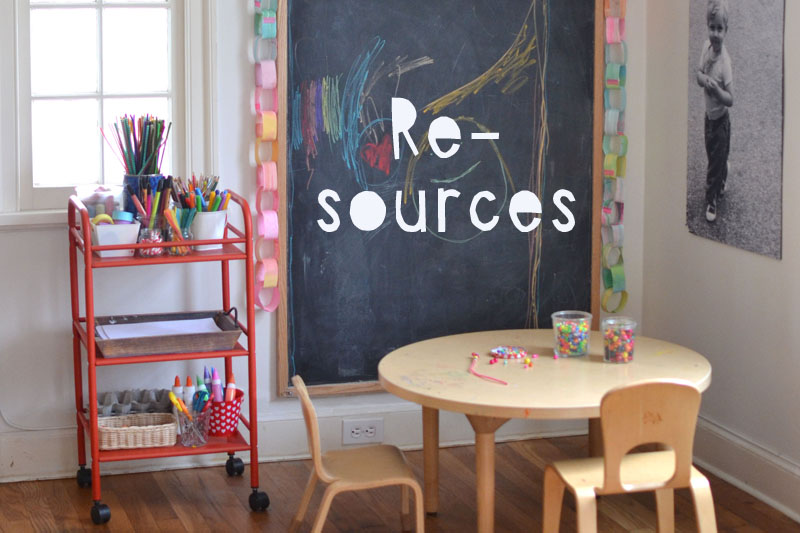 Resources from the book Art Workshop for Children by Barbara Rucci