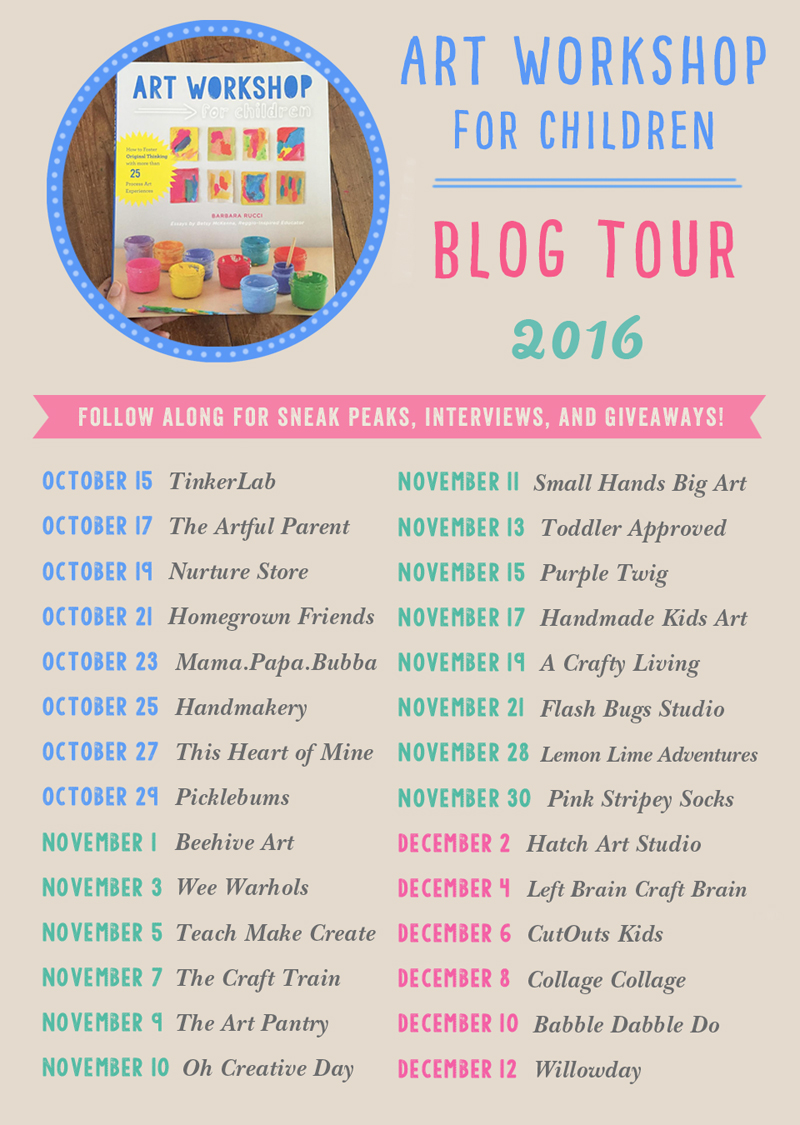 Art Workshop for Children Blog Tour 2016
