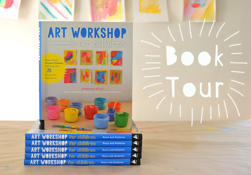 Visits to bookstores to promote my new book, Art Workshop for Children