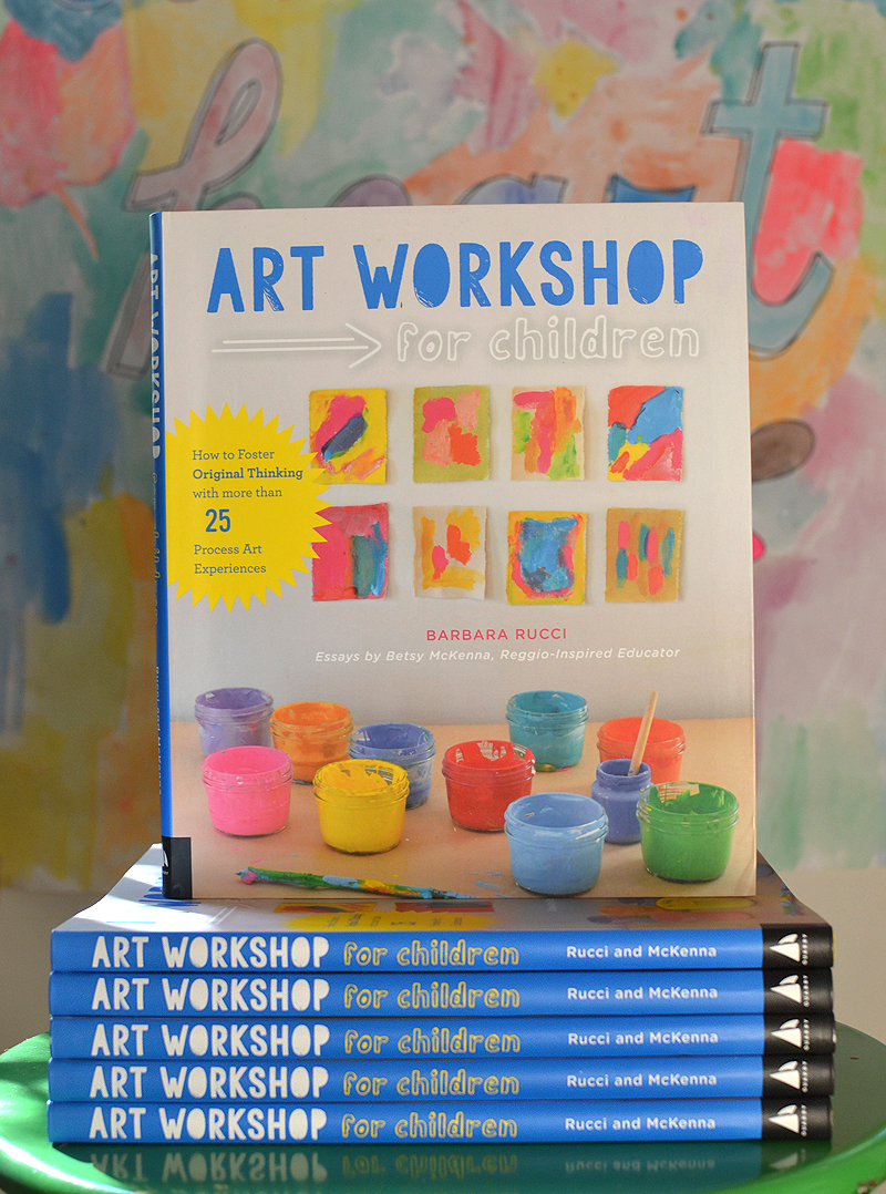 Art Workshop for Children: How to Foster Original Thinking with Process Art