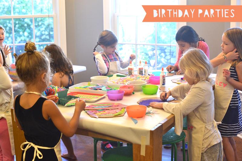 Art Bar birthday parties