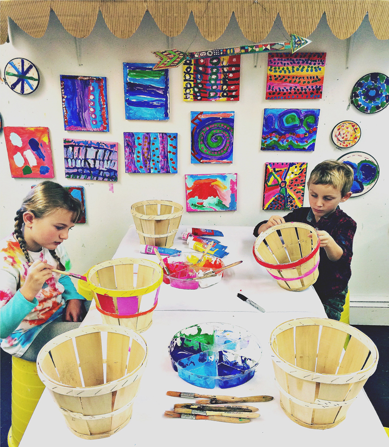 An interview with Kim Poler, owner of the children's art studio Beehive Art in Wayland, MA