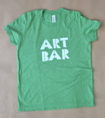 Art Bar children's t-shirt in green
