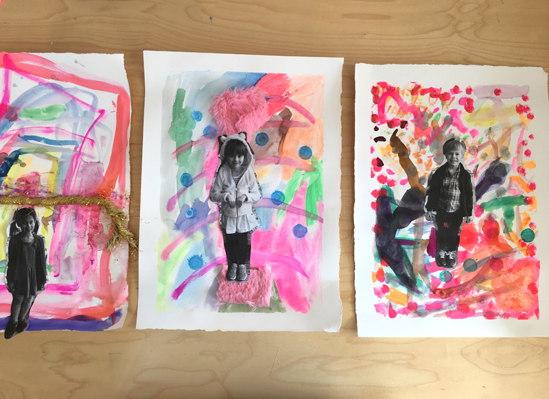 Children use this one prompt to create imagination-filled portraits