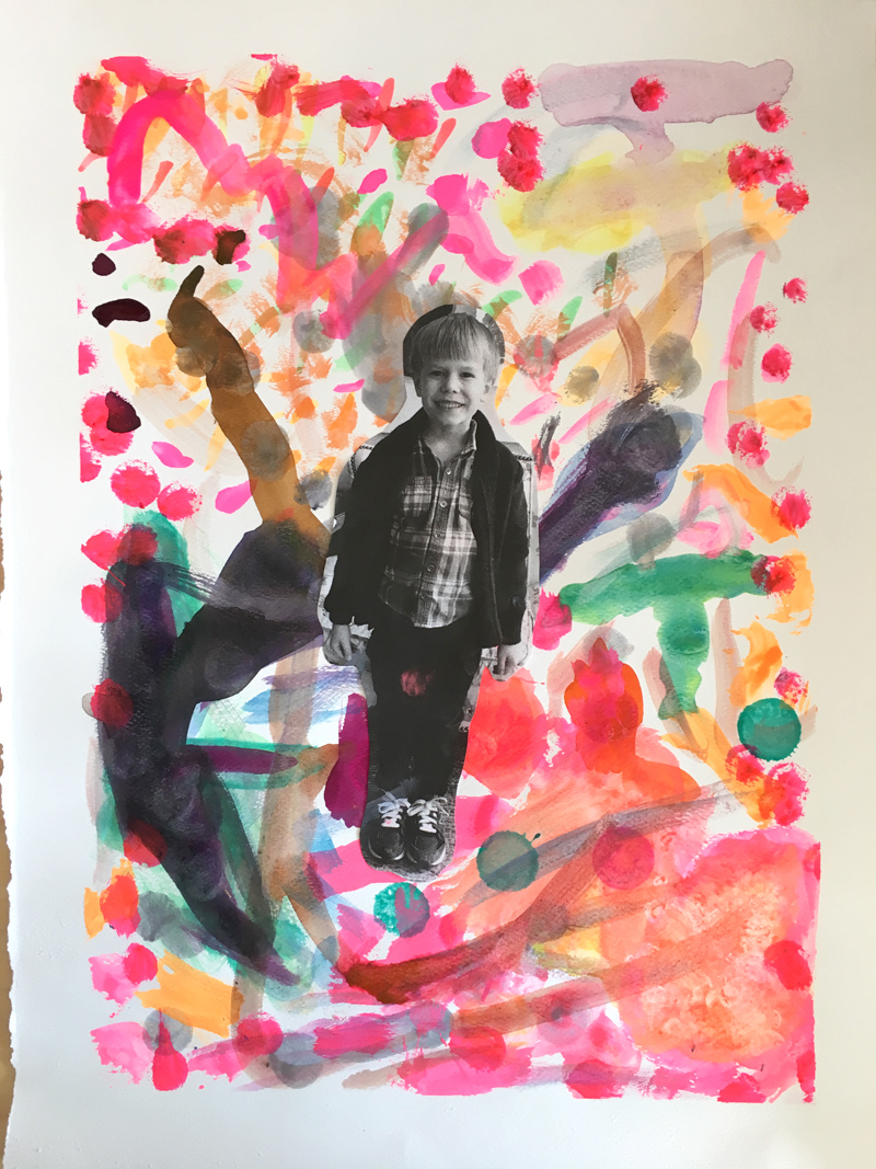 Self Portraits with Kids: What Does Your Imagination Look Like?