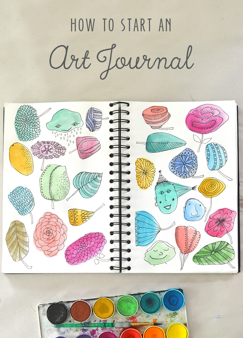 Starting an Art Journal